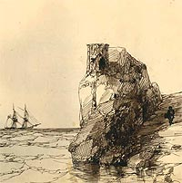 Ivan Aivazovsky - A Drawing for the Album