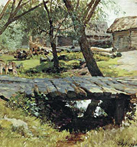 Ilya Ostroukhov - Moscow artist and collector
