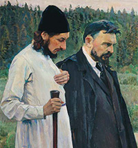 MIKHAIL NESTEROV AND THE RUSSIAN RELIGIOUS PHILOSOPHERS
