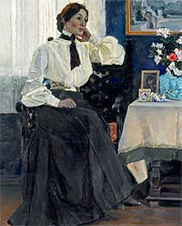 Mikhail Nesterov's Family in His Art