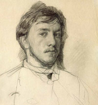 Valentin Serov's drawings at the Tretyakov Gallery