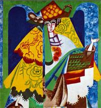 NATALIA GONCHAROVA'S SPANISH EXTRAVAGANZA