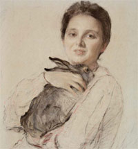 Serov's Women: two portraits, two lives