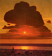 "A Russian Luminist School? ARKHIP KUINDZHI'S ""RED SUNSET ON THE DNIEPER"""