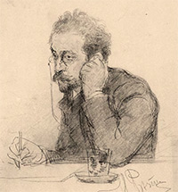 Tracing the Story of a Drawing Attributed to Repin. A LITERARY-ARTISTIC LINK BETWEEN ILYA REPIN AND IVAN LEONTIEV (SHCHEGLOV) EX