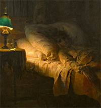 "Vasily Polenov's ""The Patient"". THE STORY OF GRIEF BEHIND THE PAINTING"