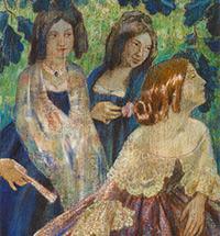 Expressive Lyrics: THE LONELY DREAMS OF BORISOV-MUSATOV.  On the 150th Anniversary of the Artist's Birth