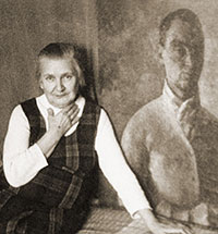 """""""I always looked at him as if at the sun"""". About the memoirs of the artist's widow"""