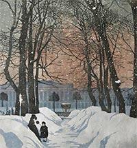 The Image of St. Petersburg in the Work of Anna Ostroumova-Lebedeva