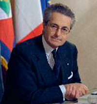 Greeting of Antonio Zanardi Landi, the ambassador of Italy to the Russian Federation