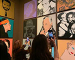 Andy Warhol at the Whitney Museum. An exceptional exhibition where you learn about his best art