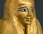 Ancient Egyptian Gilded Coffin Featured in Met Exhibition