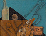 """Juan Gris's """"The Musician's Table"""" Acquired through New Gift from Leonard A. Lauder-Now on View"""